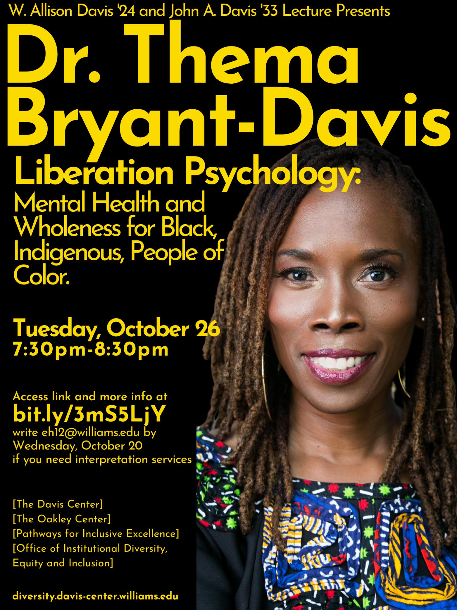 Dr. Thema Bryant Davis