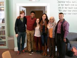 2014 Grad School panel at Hardy House