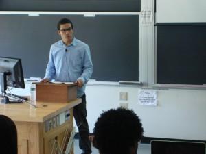 Mellon Fellow Fernando Lora