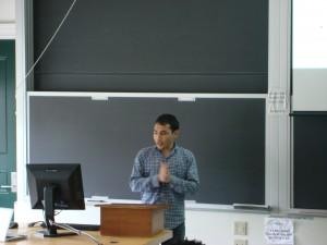 WCURF Fellow Sikandar Ahmadi